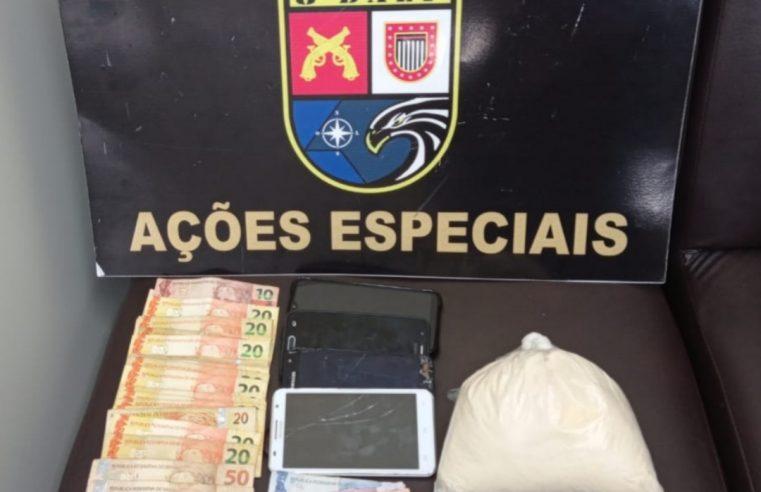 Em menos de 8 horas, Polícia Militar de Assis prende 5 por tráfico.