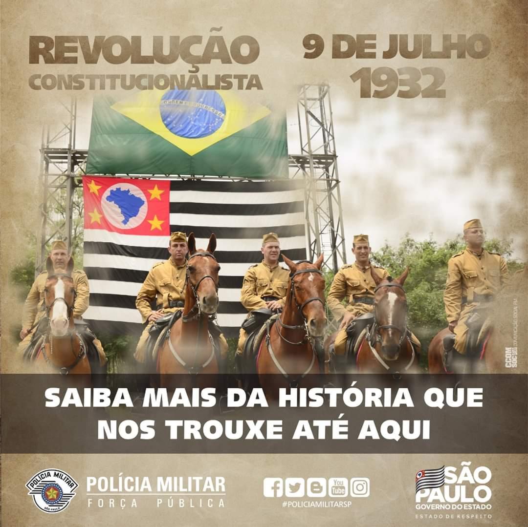 """9 de julho """"Revolução Constitucionalista de 32"""