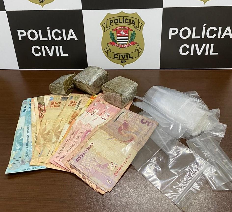 Polícia Civil detém homem por tráfico em Tupã