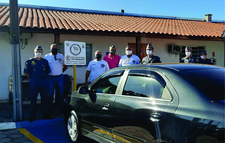 53º BPM/I Inaugura vaga de estacionamento para Veteranos em Avaré