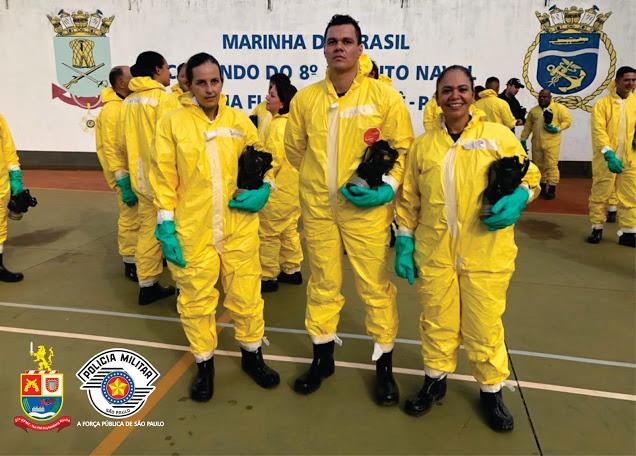 Polícia Militar recebe capacitação para enfrentamento ao Covid-19 em Barra Bonita