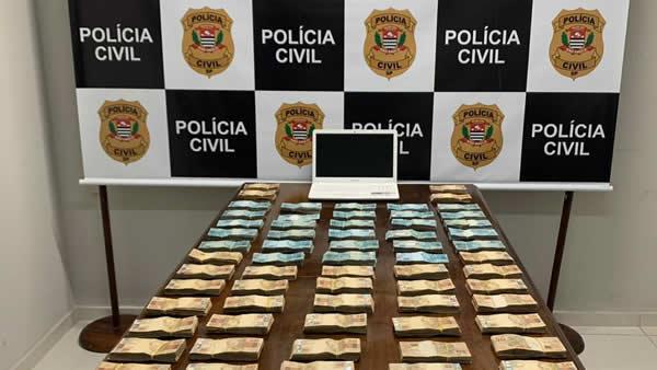 Operação da Policia Civil desarticula quadrilha que desviou mais de R$ 13 milhões de banco