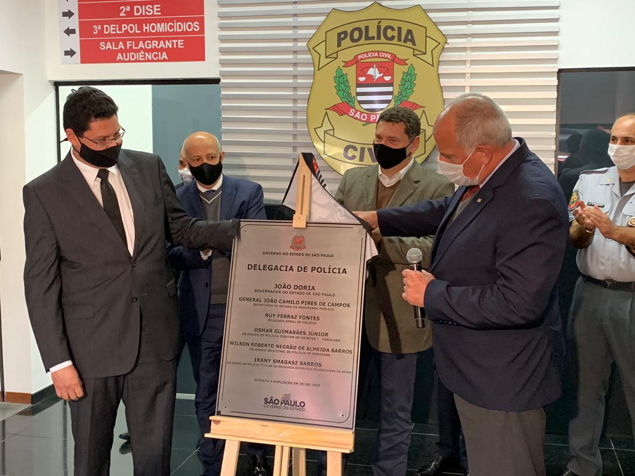 Governo de SP inaugura Deic em Sorocaba