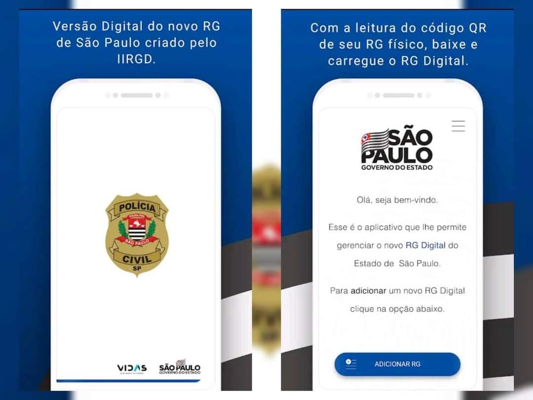 Polícia Civil lança RG digital para ser baixado por aplicativoServiço agiliza os