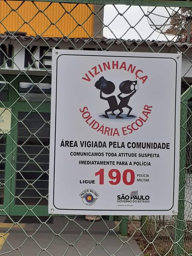 """Adamantina da início ao Projeto """"Vizinhança Solidária Escolar"""" e """"Monitoramento Escolar"""""""