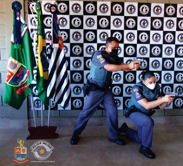 """27º BPM/I – """"Tenente PM Ruytemberg Rocha""""distribui novo armamento à todo efetivo."""