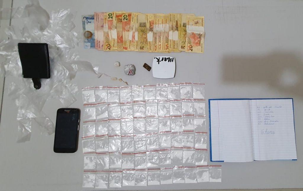 Polícia Civil detém quatro envolvidos com o tráfico de drogas em Quatá