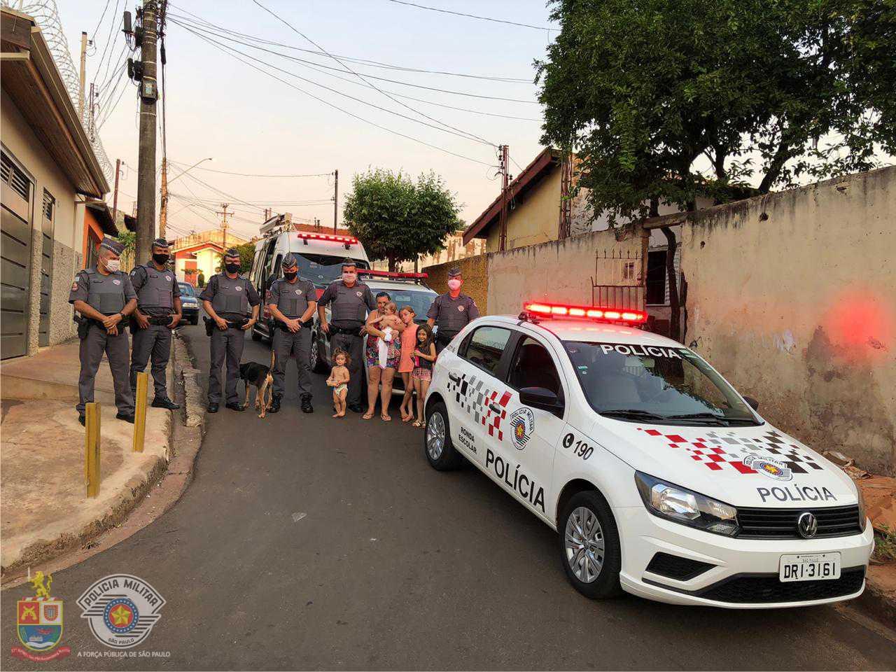 Policiais Militares do 27º BPM/I – Jaú se reúnem para ajudar família