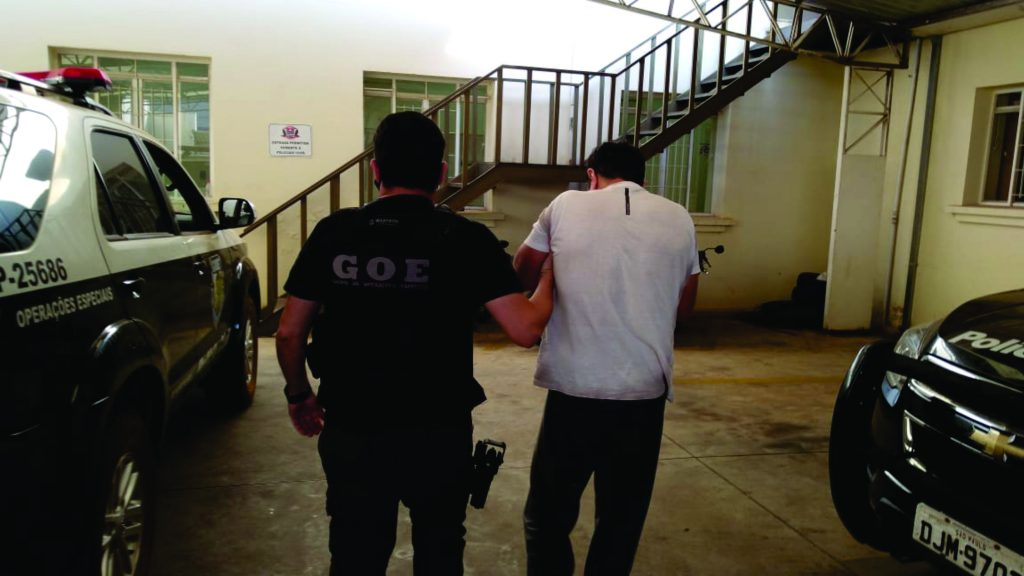 Foragido número um de São Paulo é preso em ação conjunta pela Polícia Civil e Militar em Tejupá região de Avaré-SP