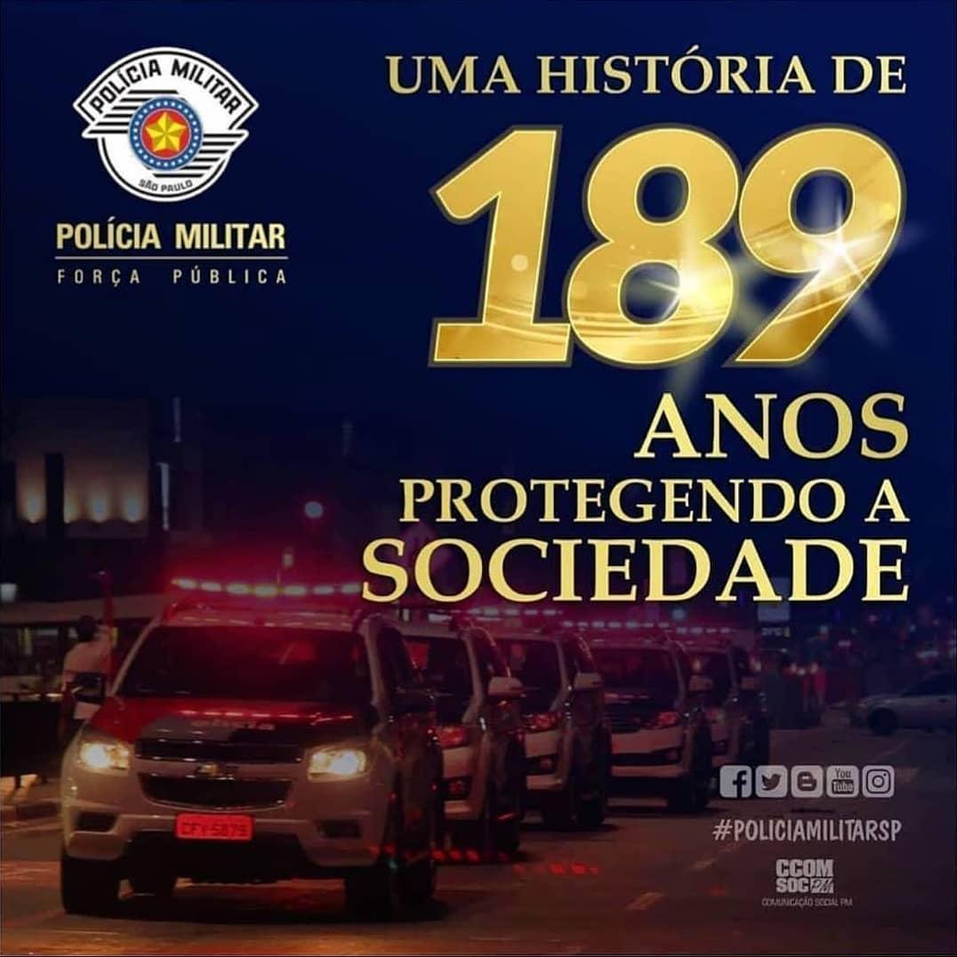 Policia Militar 189 anos