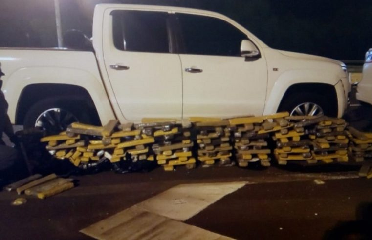 PM Rodoviária apreende 254 tijolos de maconha em Jaú