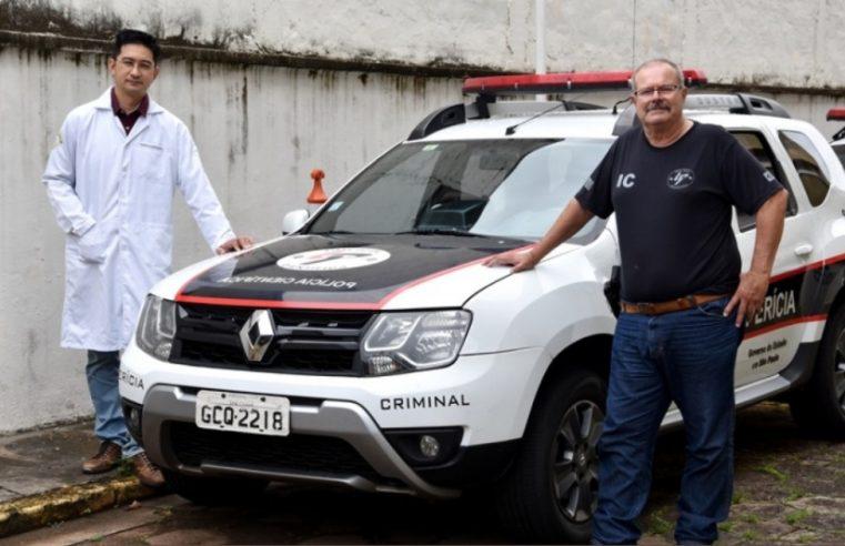 Equipe de Perícias Criminalísticas de Marília protagoniza salvamento de motociclista