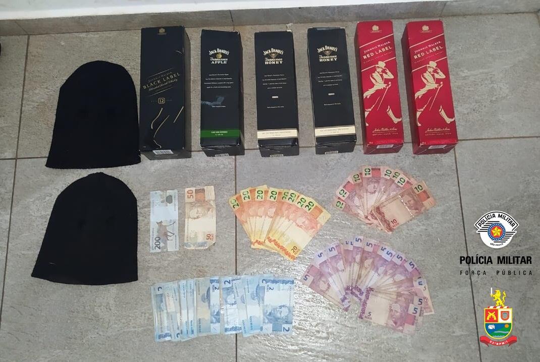 Ladrão é preso após cometer roubo em mercado de Taguaí – SP
