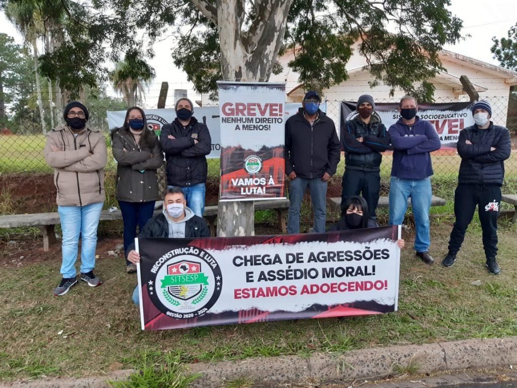 Funcionários da Fundação Casa em Botucatu aderem ao movimento estadual e entram em greve