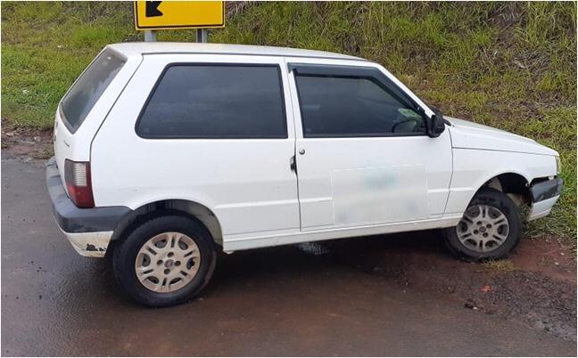 Cerco Policial resulta na prisão de ladrão após furto de carro em Taguaí