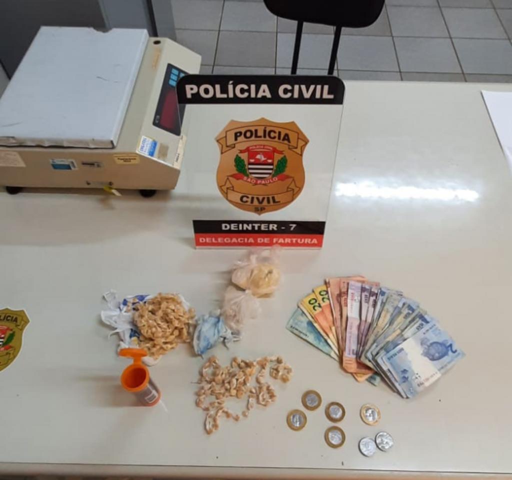 Três são presos por tráfico de drogas durante ações da Polícia Civil na região de Avaré