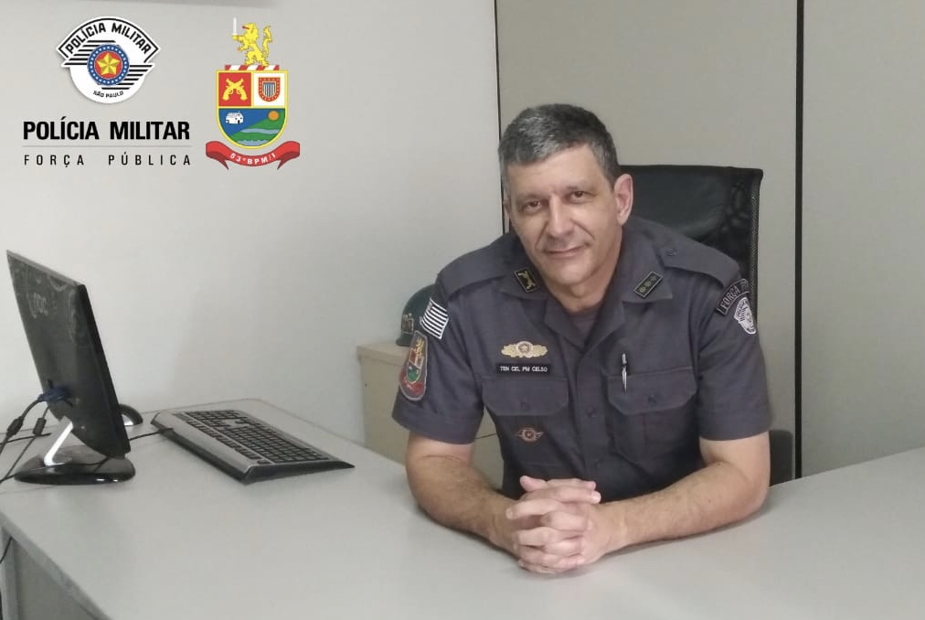 Ten. Coronel Celso Luis Rodrigues assume o comando do 53o Batalhão de Polícia Militar do Interior