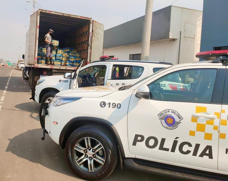 Policiamento Rodoviário de Bauru apreende mais de 2,8 toneladas de maconha