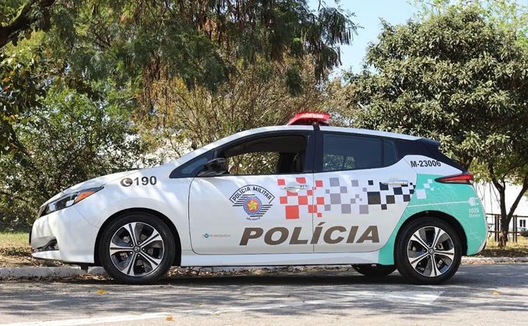 Polícia Militar inicia testes com viaturas elétricas